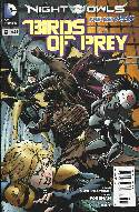 Birds Of Prey #9 (Night of the Owls) [Comic] THUMBNAIL