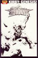 Kirby Genesis Silver Star #1 Lee B&W Incentive Cover [Comic] THUMBNAIL