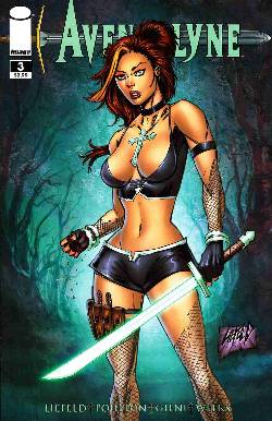 Avengelyne #3 Cover A- Liefeld [Comic] LARGE
