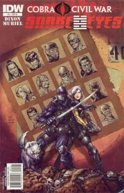 Snake Eyes Ongoing (IDW) #5 Cover RI- 1:10 Incentive LARGE
