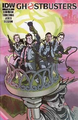 Ghostbusters Ongoing #7 Cover RI- Maloney Incentive Variant [Comic] LARGE