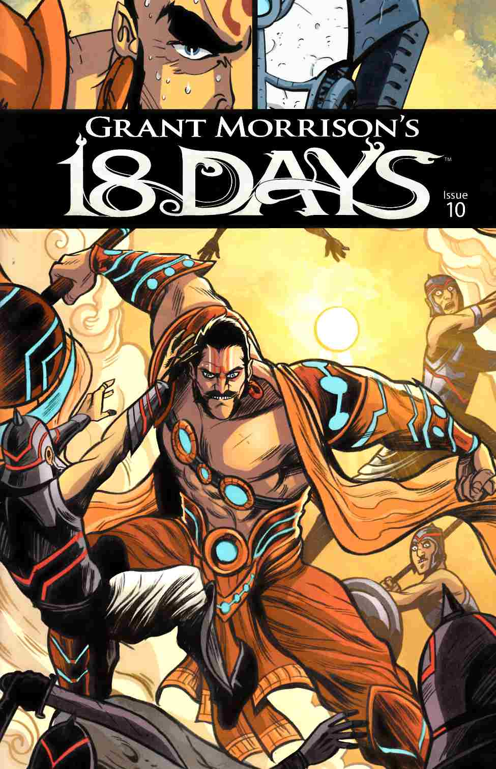 Grant Morrisons 18 Days #10 Cover A- Main [Graphic India Comic] THUMBNAIL