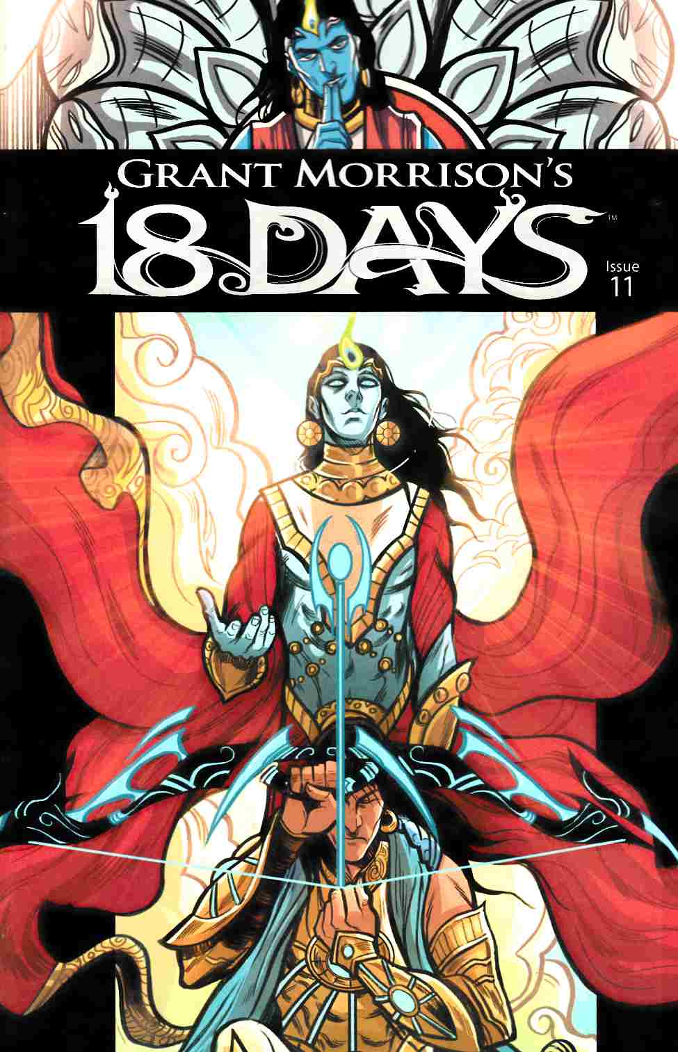 Grant Morrisons 18 Days #11 Main Cover [Graphic India Comic] THUMBNAIL