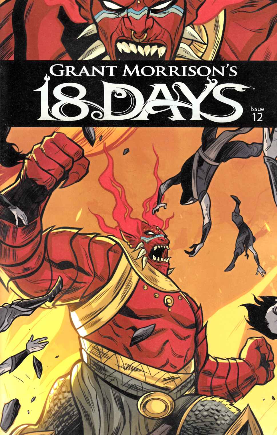 Grant Morrisons 18 Days #12 Main Cover [Graphic India Comic] THUMBNAIL