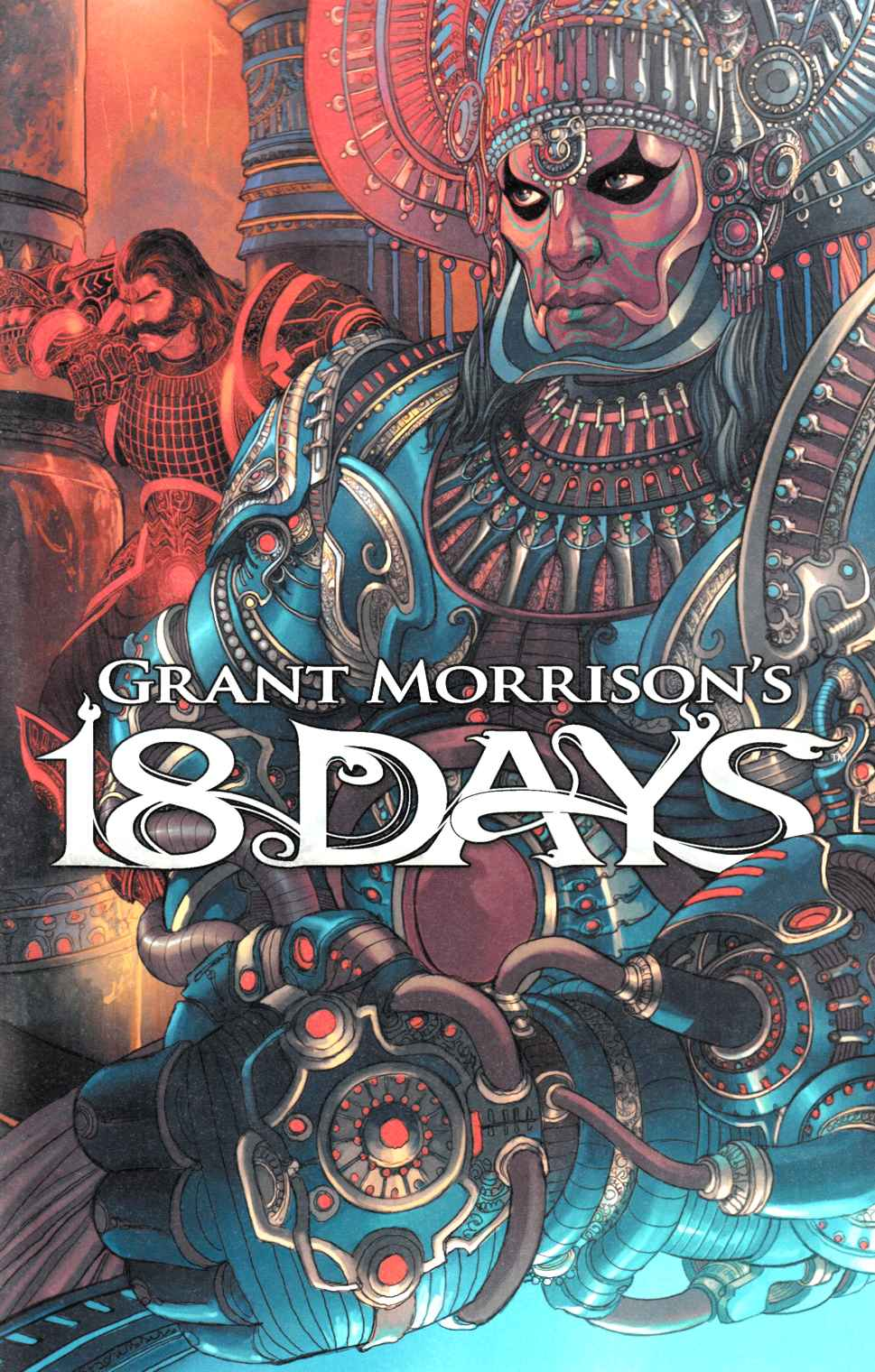Grant Morrisons 18 Days #12 Singh Variant Cover [Graphic India Comic]_THUMBNAIL