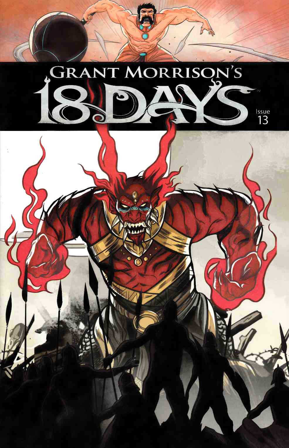 Grant Morrisons 18 Days #13 [Graphic India Comic] THUMBNAIL