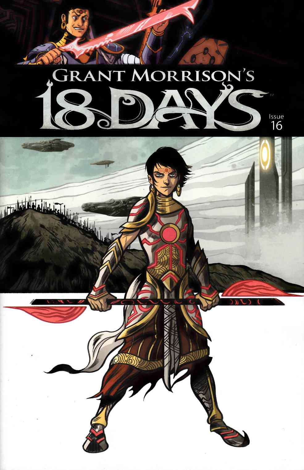 Grant Morrisons 18 Days #16 Singh Variant Cover [Graphic India Comic] LARGE