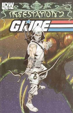 Infestation 2 GI Joe #2 Cover RI- Inter-Connected Tentacle Attack [Comic] LARGE