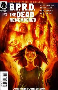 Bprd dead remembered #2 LARGE