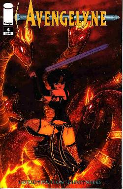 Avengelyne #4 Cover A- Liefeld [Comic] LARGE