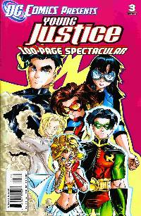 Dc comics presents young justice #3 LARGE