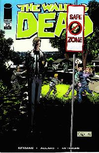 Walking dead #70 LARGE