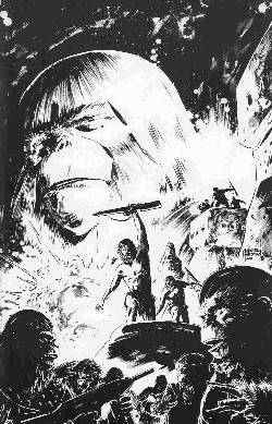Exile On The Planet Of The Apes #1 Cover C- Sketch Incentive [Comic] LARGE