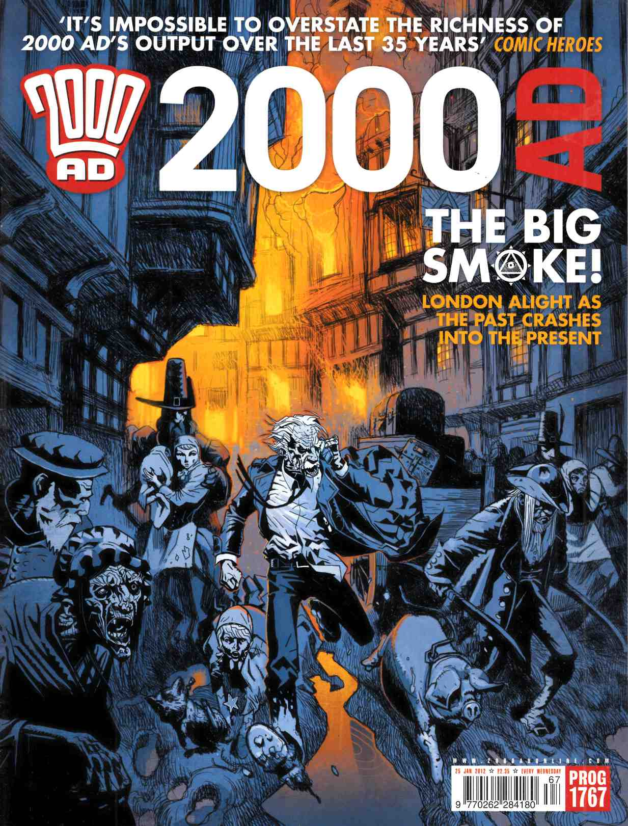 2000 AD #1767 Very Fine (8.0) [Fleetway Comic] LARGE