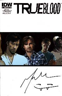 True blood convention exclusive signed ed #1 LARGE