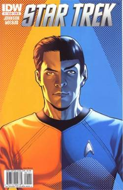 Star Trek Ongoing #1 Cover B- Messina [Comic] LARGE