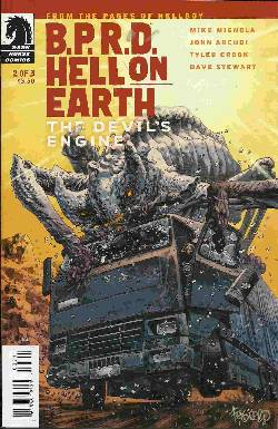 BPRD Hell On Earth Devils Engine #2 [Comic] LARGE