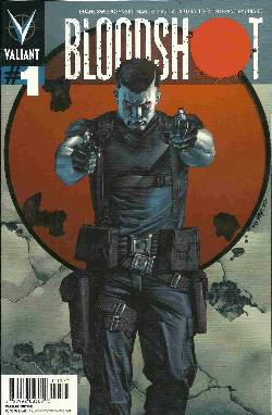 Bloodshot #1 Pullbox Suayan Cover [Valiant Comic] LARGE