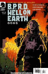 Bprd hell on earth gods #1 LARGE
