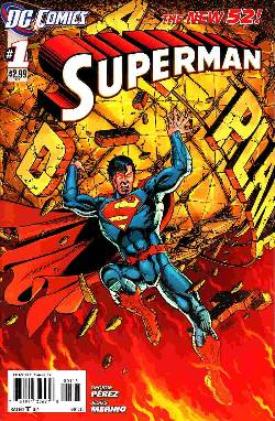 Superman #1 Second (2nd) Printing [Comic] LARGE