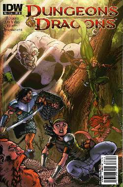 Dungeons And Dragons #9 Cover B- Vito [Comic] LARGE