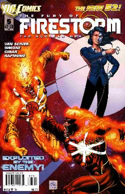 Fury Of Firestorm The Nuclear Men #5 [Comic] LARGE