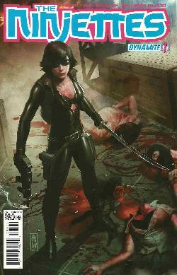 Garth Ennis Ninjettes #1 Wijaya Cover [Comic] LARGE