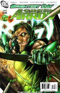 Green arrow #9 (1:10 davis variant cover) LARGE