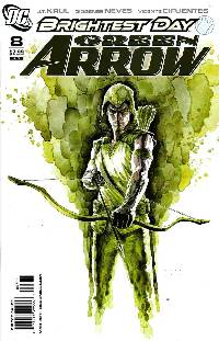 Green arrow #8 (1:10 mac variant cover) LARGE