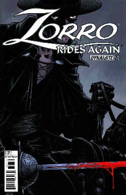 Zorro Rides Again #6 [Comic] LARGE