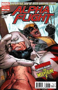 Alpha Flight #7 [Comic] LARGE