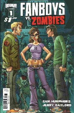 Fanboys vs Zombies #1 Cover B [Comic] LARGE