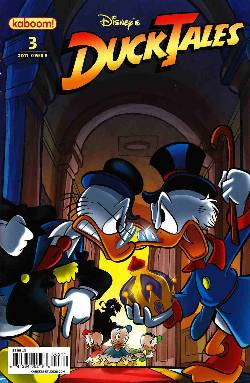Ducktales #3 Cover B Near Mint (9.4) [Boom Comic] LARGE