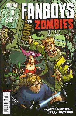 Fanboys vs Zombies #1 Cover I- Second (2nd) Printing [Comic] LARGE
