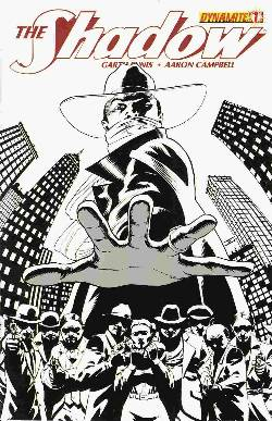 Shadow #1 Cassaday B&W Incentive Cover [Comic] LARGE