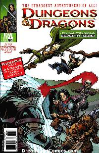 Dungeons and dragons #7 cover ri-a 1:10 incentive LARGE