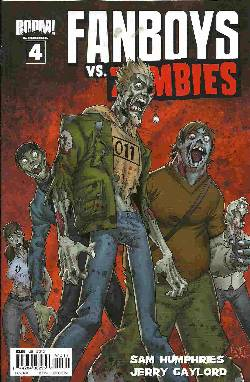 Fanboys Vs Zombies #4 Cover B [Comic] LARGE