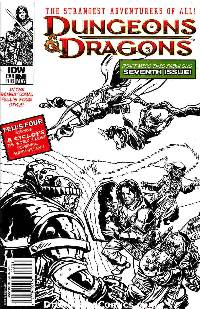 Dungeons and dragons #7 cover ri-b 1:25 incentive cover LARGE