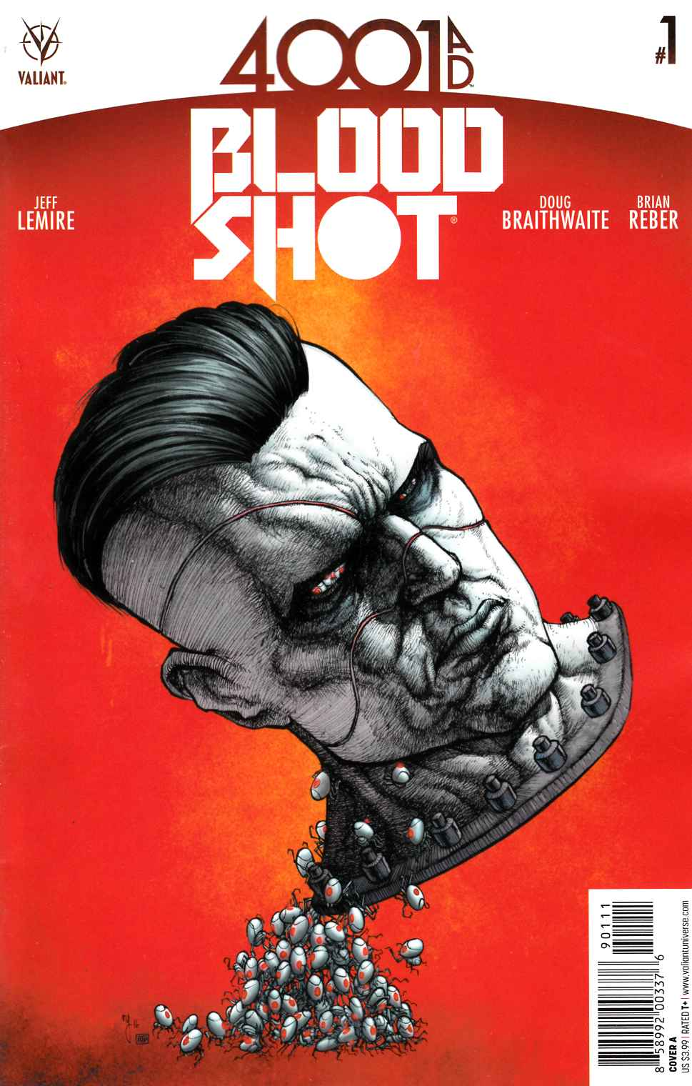 4001 AD Bloodshot #1 Cover A [Valiant Comic] LARGE