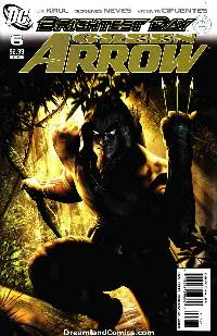 Green arrow #6 (1:10 migliari variant cover) LARGE