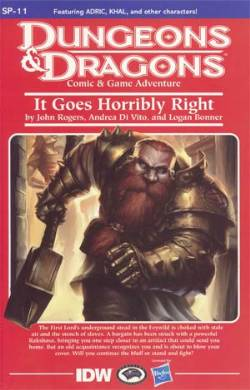 Dungeons And Dragons #11 Cover RI- 1:10 Module Incentive [Comic] LARGE