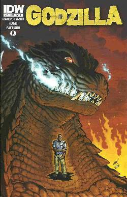 Godzilla Ongoing #2 Cover B- Frank [Comic] LARGE
