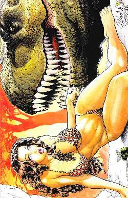 Cavewoman Mutation #1 Budd Root Special Edition [Comic] LARGE