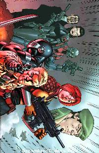 Gi joe vol 2 #1 cover ri-a LARGE