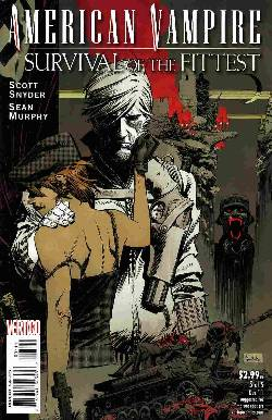American Vampire Survival Of The Fittest #5 [Comic] LARGE