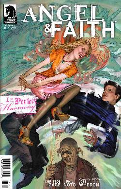 Angel & Faith #5 Steve Morris Cover [Comic] LARGE