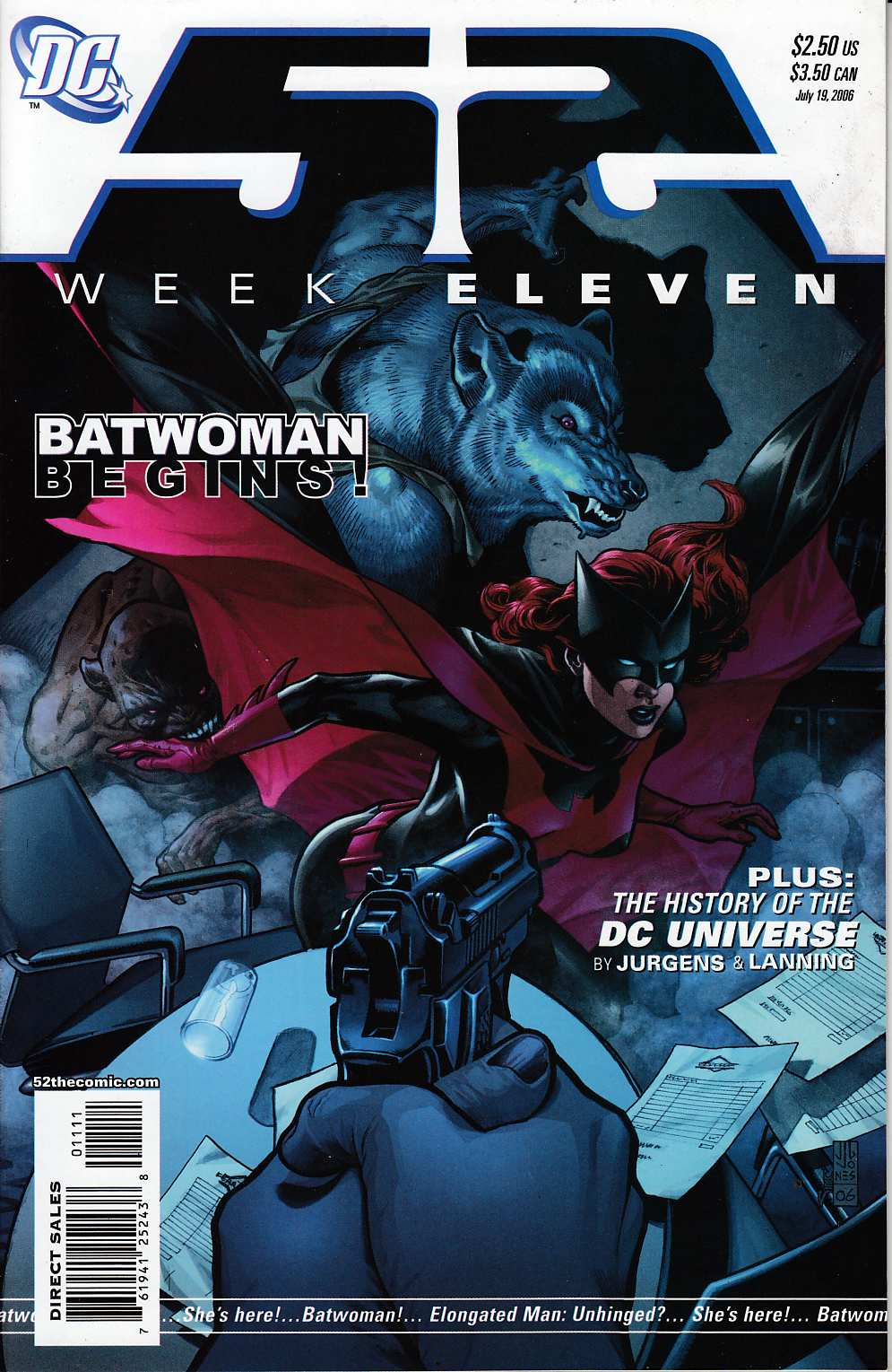 52 Week #11 Near Mint (9.4) [DC Comic] THUMBNAIL