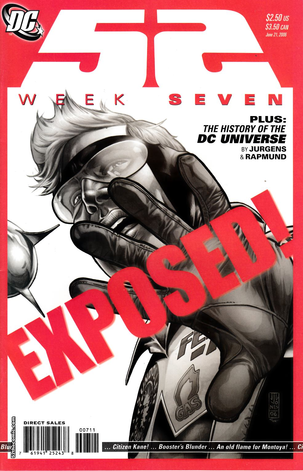 52 Week #7 Near Mint Minus (9.2) [DC Comic] THUMBNAIL