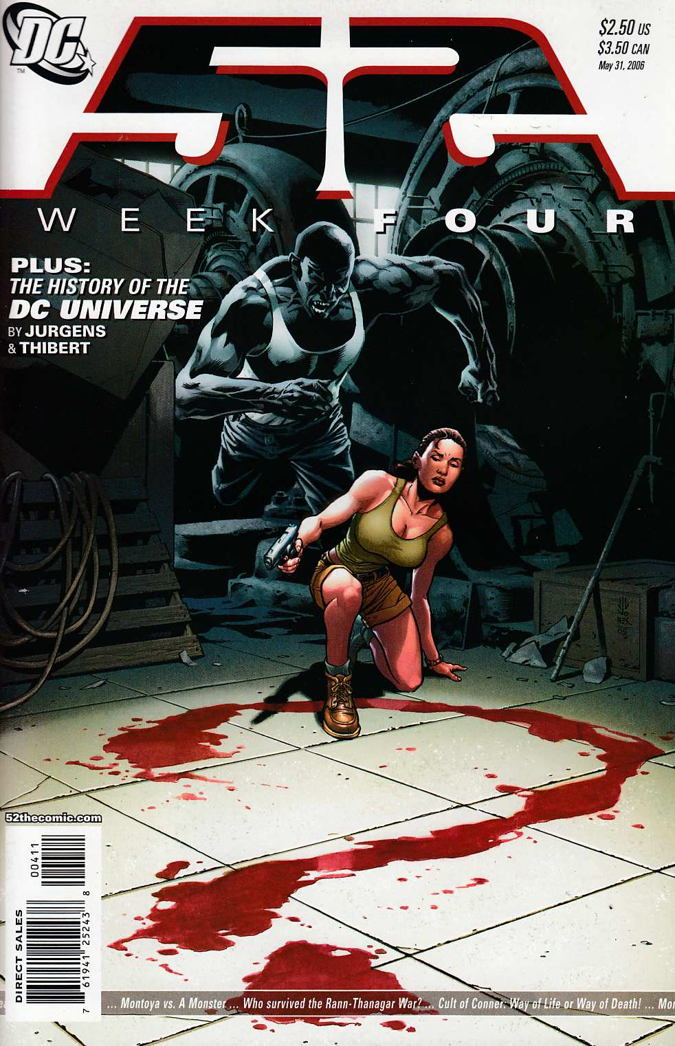 52 Weeks #4 Very Fine (8.0) [DC Comic] LARGE