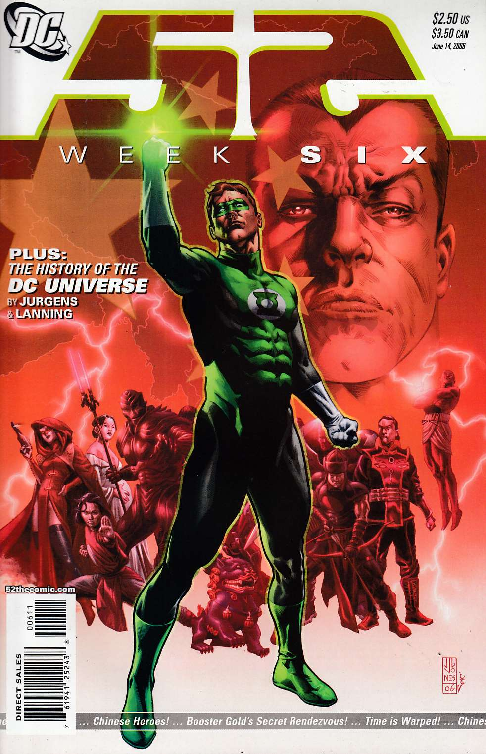 52 Weeks #6 Near Mint (9.4) [DC Comic] LARGE
